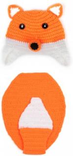 Handstickade barnkläder set i 2 delar för fotografering syfte
