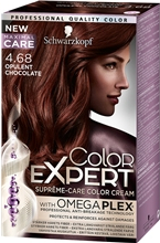 Color Expert - Supreme Care Color Cream 1 set 4.68 Opulent Chocolate