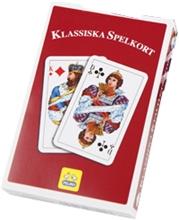 Svensk Klassisk Kortstokk Rød