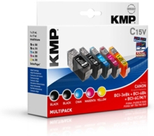 KMP - Savings Pack - BCI-6BK / BCI-6C / BCI-6M / BCI-6Y / BCI-6PC / BCI-6PM - 0958.0005