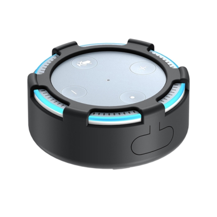 Silikondeksel Amazon Echo Dot 2 Svart