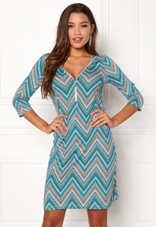 Happy Holly Renata dress Patterned 32/34