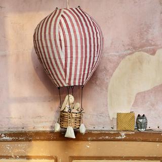 Luftballongslampa, rosa