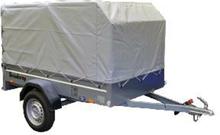 BRENDERUP HØJ PRESENNING F/ 200-1205s - trailer mål 209x122 cm