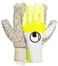 Uhlsport Keeperhanske Pure Alliance Supergrip+ HN - Hvit/Gul/Sort