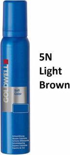 Goldwell Soft Color Foam Tint 5N Light Brown 125 ml