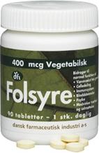DFI Foolihappo 400 mcg 90 tablettia