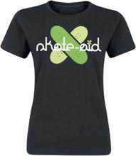 Skate Aid - Cross Logo -T-skjorte - svart