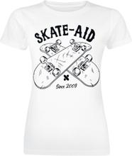 Skate Aid - Crossboards -T-skjorte - hvit