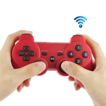 Langaton Gamepad PS3 – Punainen