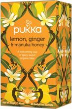 Pukka Bio-Tee Zitrone, Ingwer & Manuka-Honig 20 stk