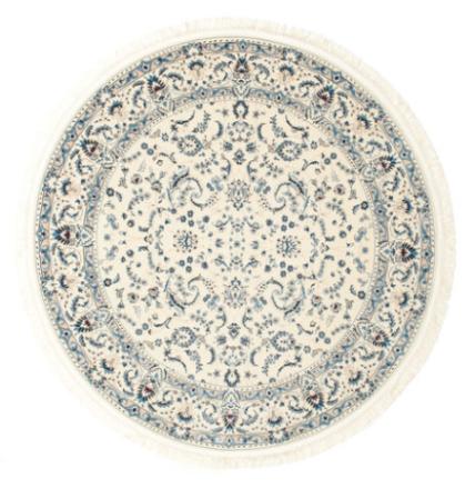 Nain Florentine - Cream matta Ø 400 Orientalisk, Rund Matta