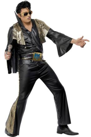 Maskeraddräkt Elvis Presley man