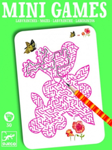 Mini-Games - Labyrint (grön)