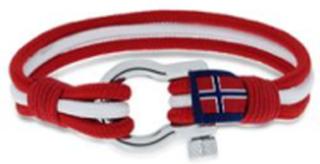 GD Maritim armbånd rød/hvit