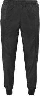 Black Series Dot Air Slim-fit Tapered Shell Sweatpants - Black