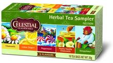 Celestial Herbal Tea Sampler 18 breve