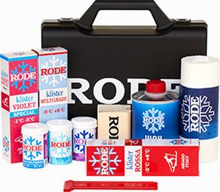 Rode Nordic box med valla