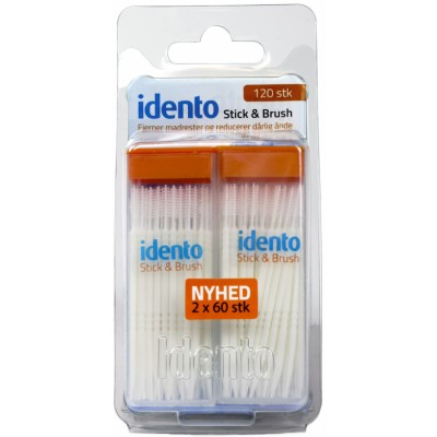 Idento Stick & Brush 120 stk