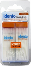 Idento Stick & Brush 120 kpl