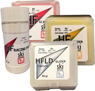 Skistart tävlingspaket HF+Pulver