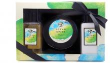W7 Ocean Spice Sea Salt & Sage Bath & Body Set 2 x 250 ml + 230 ml