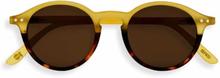 Izipizi Solbriller, D Sun, Yellow/Tortoise