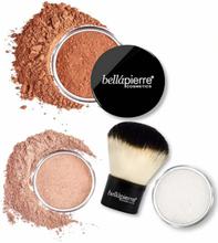 Bellápierre Cosmetics Sunkissed & Defined Bronzing Kit 4 kpl