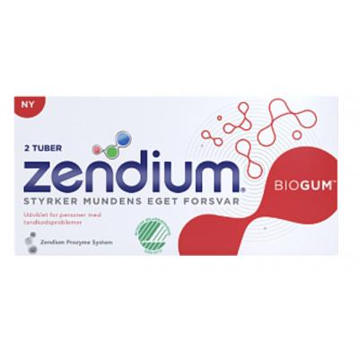 Zendium Biogum 2-pak Tandpasta 2 x 50 ml
