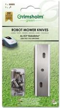 Kniver til AL-KO Robolinho 500E / 700E / 1150E / 1200E / 2000E