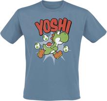 Super Mario - Yoshi -T-skjorte - blå