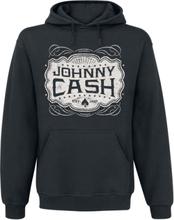 Johnny Cash - Emblem -Hettegenser - svart