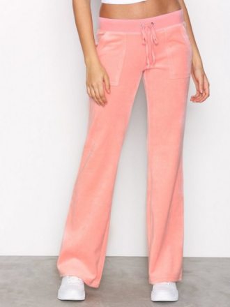 Bukser - Pink Juicy Couture Velour Del Rey Pant