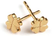 Sparkle Clover Earrings, ONESIZE