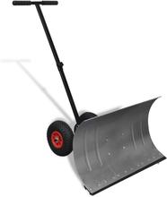 vidaXL Snöskyffel med hjul