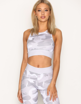 NLY SPORT Camo Sports Top Camouflage