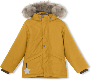Weli vinterjakke med pels - Buckthorn Brown