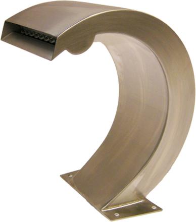 Ubbink Vattenfall i rostfritt stål Mamba S-LED