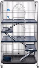 Perfect Maxi -pieneläinhäkki - antiikki/tummansininen: P 79 x L 52 x K 140 cm