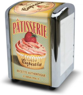 Lady Cupcake Servetthållare / Dispenser