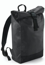 Tarp Roll-Top Backpack Black