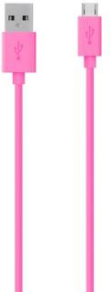BELKIN Belkin Micro USB 2.0 2M Cable - 2M - Pink 722868973127 Replace: N/ABELKIN Belkin Micro USB 2.0 2M Cable - 2M - Pink