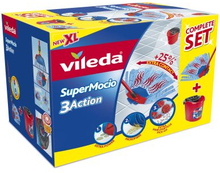 Vileda Vileda Supermocio 3Action Box 4023103158344 Replace: N/AVileda Vileda Supermocio 3Action Box