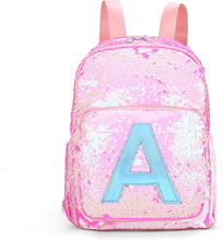 Sequins Kids School Bags for Teenage Girls Letter Backpack Children's Schoolbags Pink Cute Backpack Women Bagpack Mochila Escola