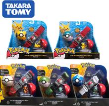 Anime Pokemon Pokemon Master Pop-up Elf Ball Belt Pokeball Pikachu Doll Toys Children Gift