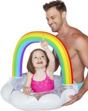 Oppblåsbar Regnbue Badering til Baby 1-3 ÅR