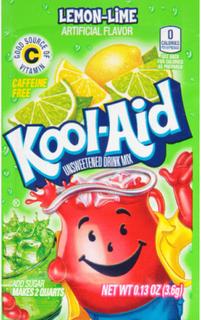 1 stk Kool-Aid Lemonadepulver med Sitron-Lime Smak (USA Import)