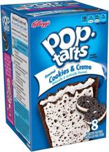 8 pk Kellogg's Pop Tarts Cookies & Creme (USA Import)