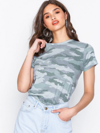 NLY Trend Camo Oversize Tee T-shirts Camouflage