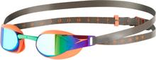 speedo Fastskin Elite Mirror Svømmebriller, fluo orange/lawn green 2019 Svømmebriller